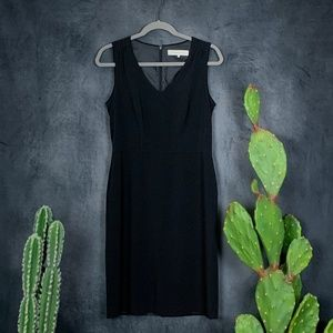 🌵 Gerard Darel Paris LBD Black Sheath Dress 8